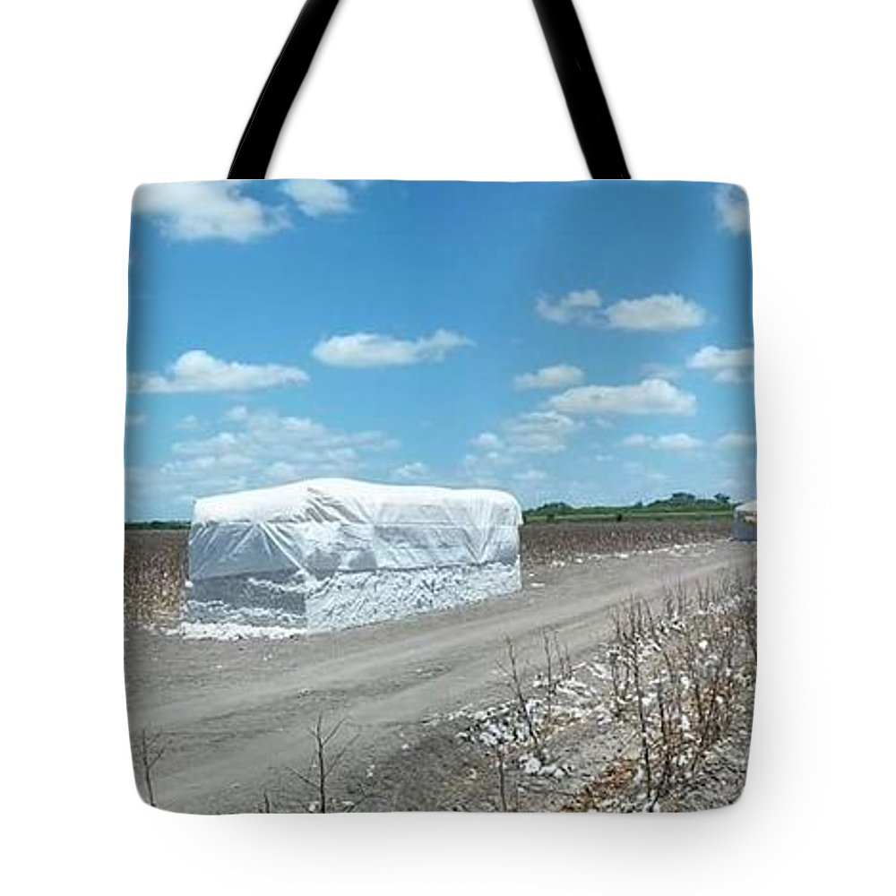 White Iphone Tote Bag featuring the digital art Rio Roadside Series #30 by Scott S Baker