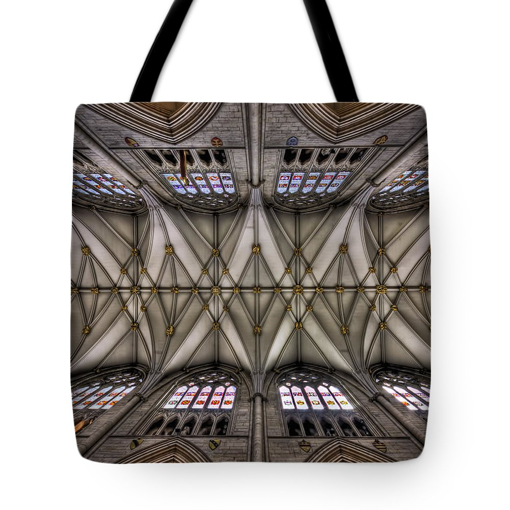 Ceiling Tote Bag featuring the photograph Rise Above by Evelina Kremsdorf