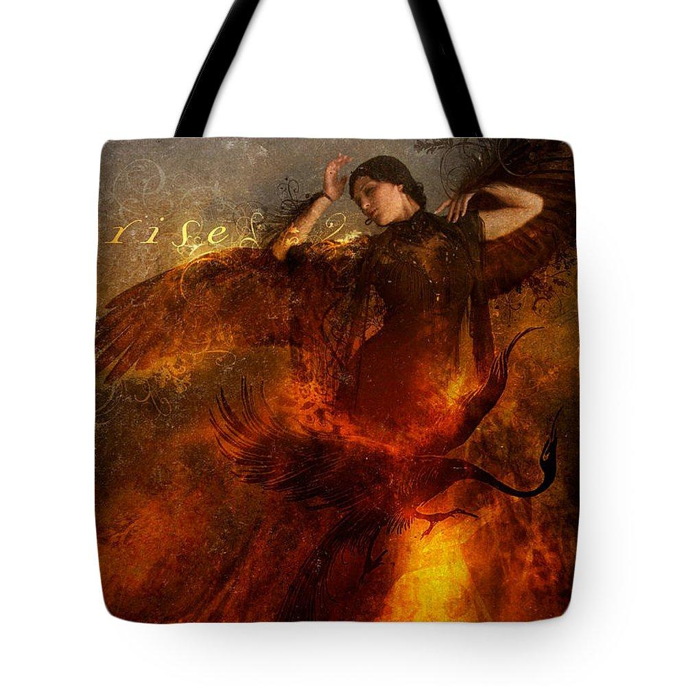Phoenix Tote Bags