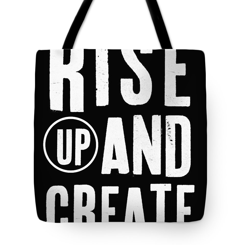 Office Decor Mixed Media Tote Bags