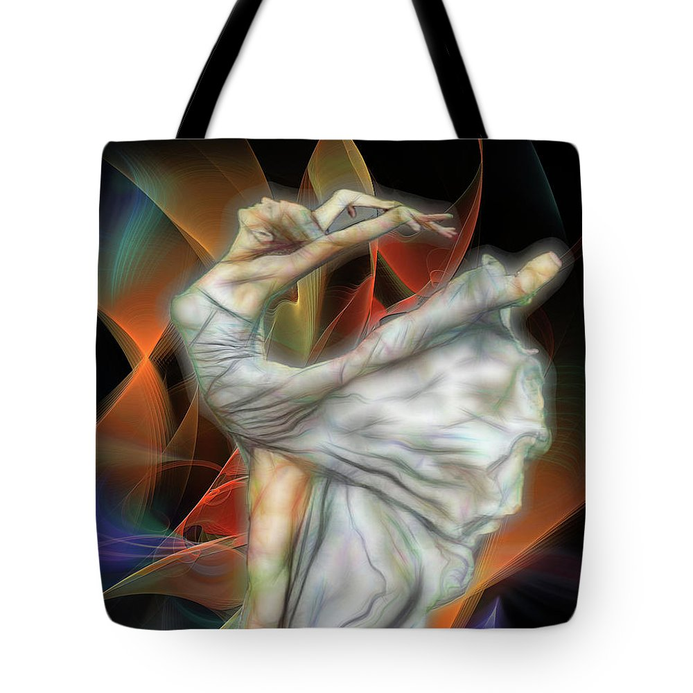 Affordable Art Tote Bag featuring the digital art Rite Of Spring by John Beck