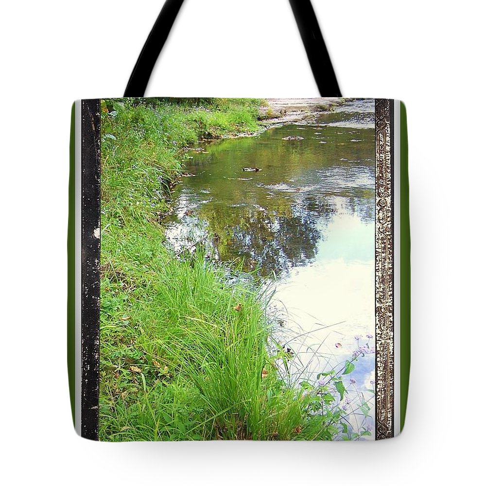 Tote Bag featuring the photograph River Bend by Shirley Moravec