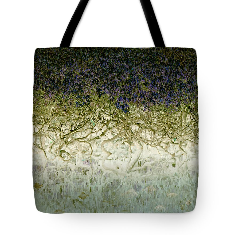 Landscapes Tote Bag featuring the photograph River Of Life by Holly Kempe