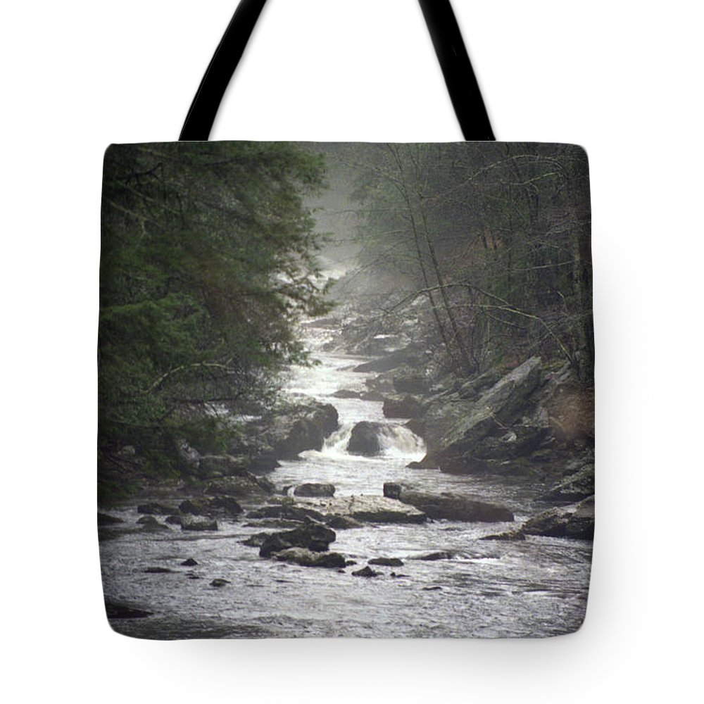 River Tote Bag featuring the photograph River Run by Richard Rizzo