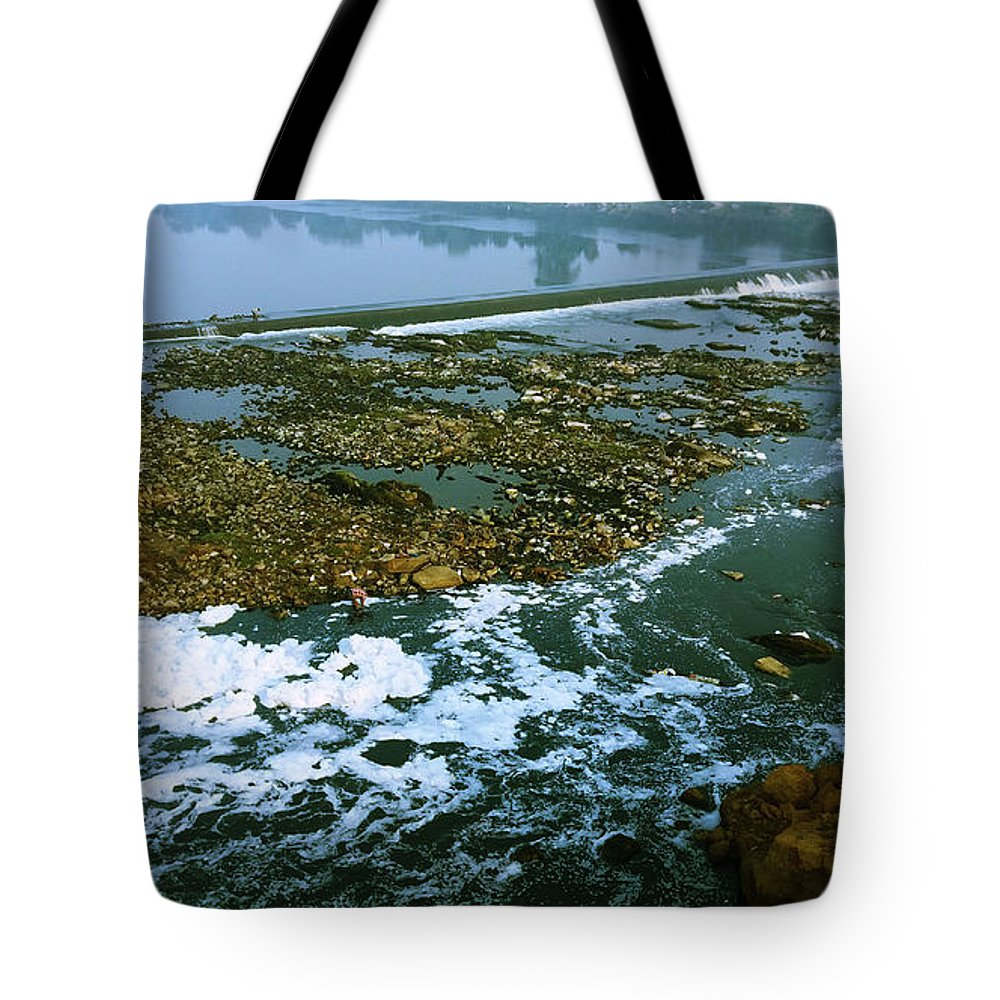 River Tote Bag featuring the photograph River Subernarekha by Nilu Mishra