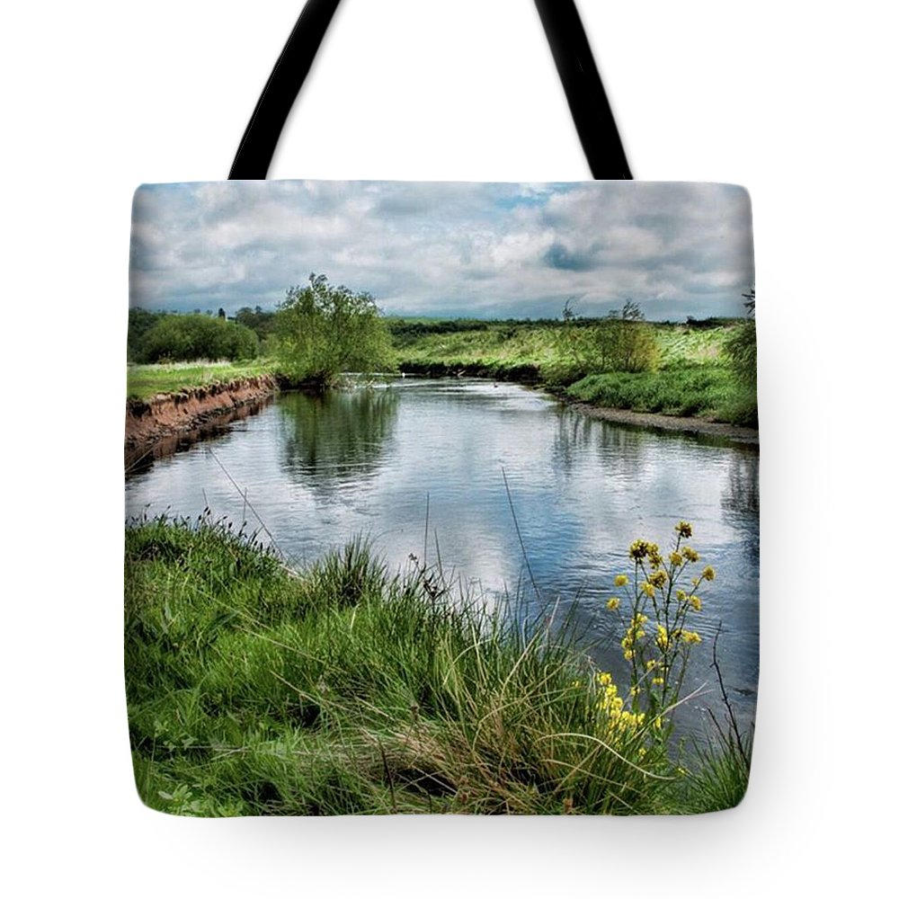 Nature_perfection Tote Bag featuring the photograph River Tame, Rspb Middleton, North by John Edwards