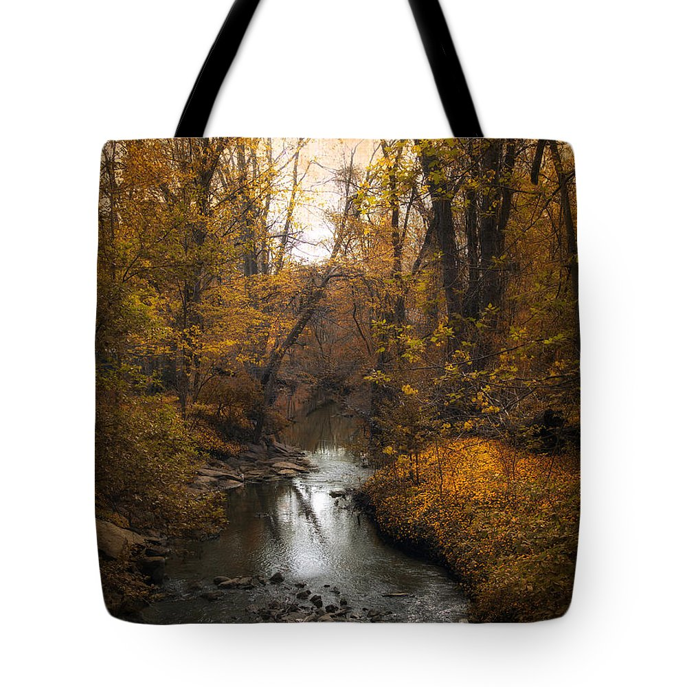 Seasons Tote Bag featuring the photograph River Views by Jessica Jenney