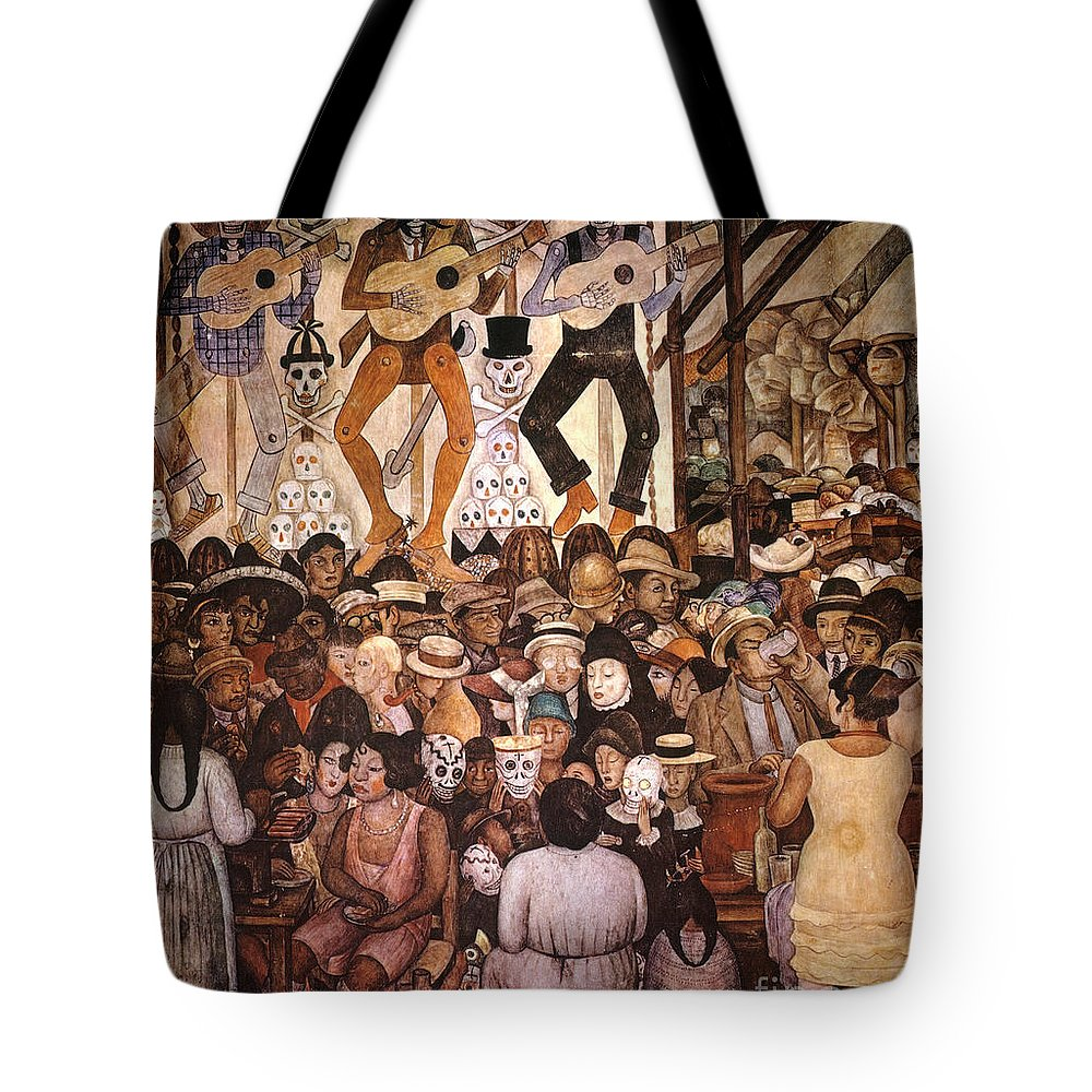20th Century Tote Bag featuring the photograph Rivera: Day Of The Dead by Granger