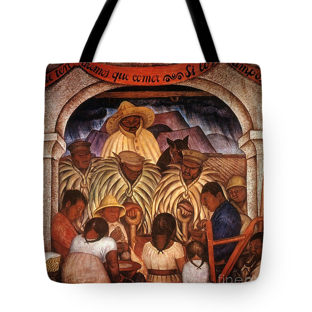 20th Century Tote Bag featuring the photograph Rivera: Rain by Granger