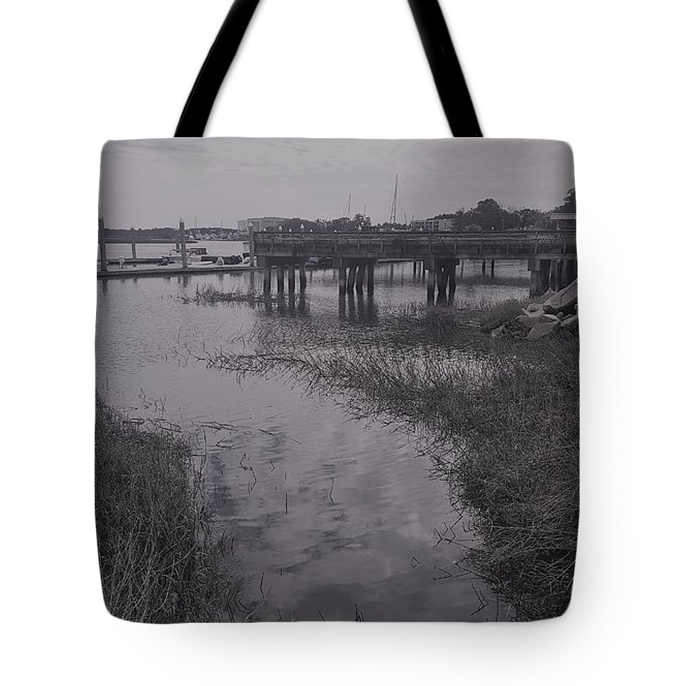 Riverside Tote Bag featuring the photograph Riverside by McCall Chase