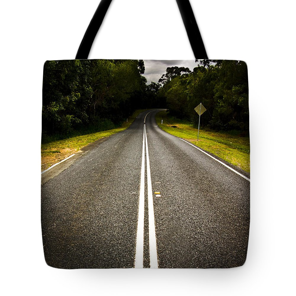 Empty Tote Bag featuring the photograph Road by Jorgo Photography - Wall Art Gallery