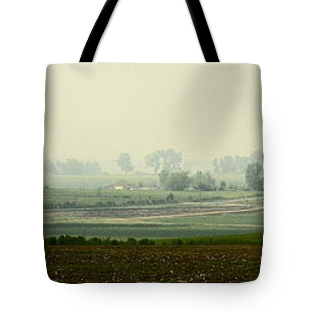 Landscape Tote Bag featuring the photograph Road To Baggend by Jack Williamson