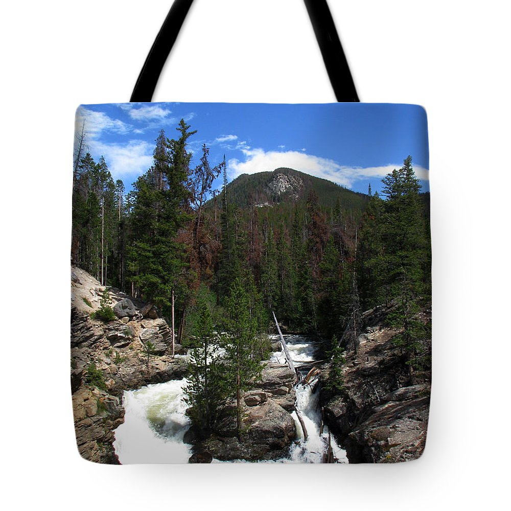 Colorado Tote Bag featuring the photograph Roar by Amanda Barcon