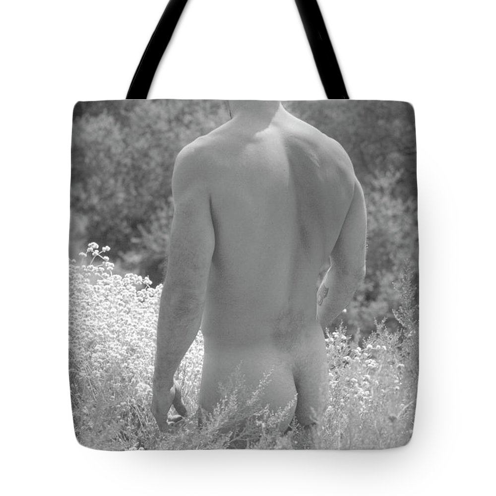 Male Tote Bag featuring the photograph Robert N. 2-1 by Andy Shomock