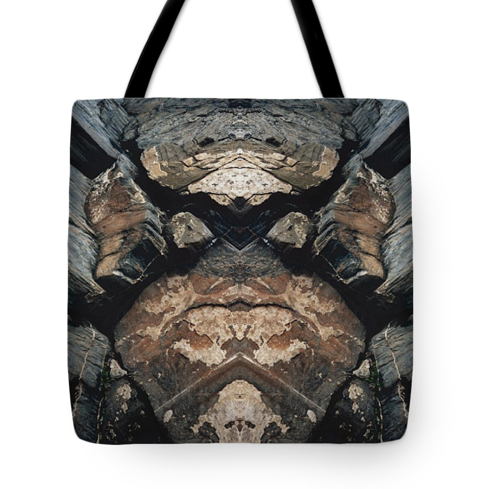 Rocks Tote Bag featuring the photograph Rock Gods Rock Matron by Nancy Griswold