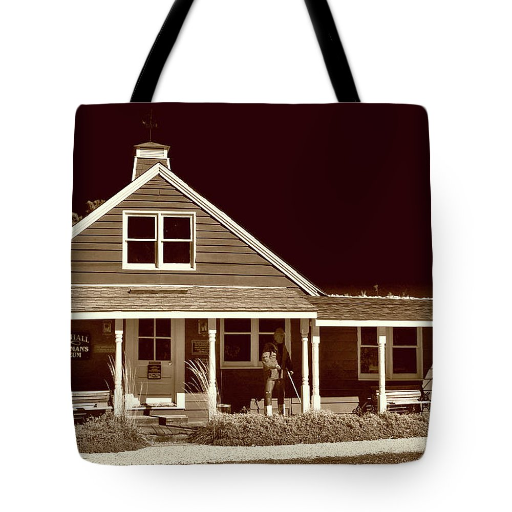 Culture Tote Bag featuring the photograph Rock Hall Waterman's Museum by Skip Willits