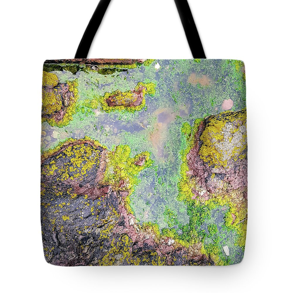 Rock Pools Tote Bag featuring the photograph Rock Pool by Tim Clark