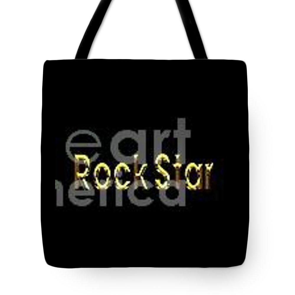 Rock Star Tote Bags