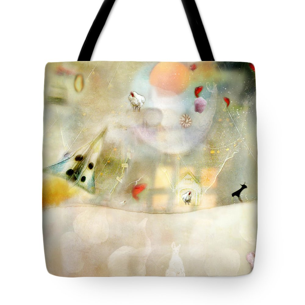 Rockets Tote Bag featuring the photograph Rocket by Karen Divine