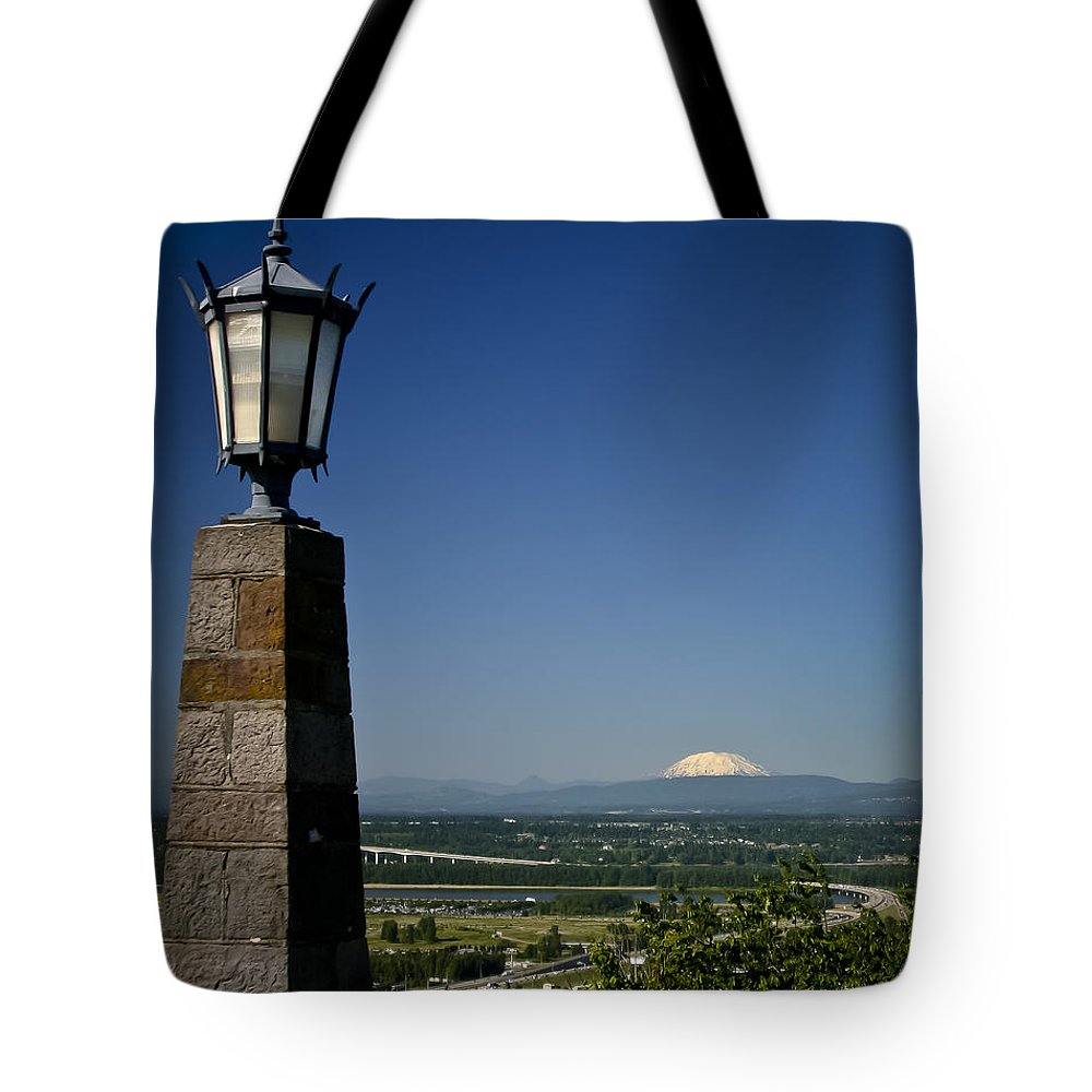 Rocky Butte Tote Bag featuring the photograph Rocky Butte 2 by Albert Seger