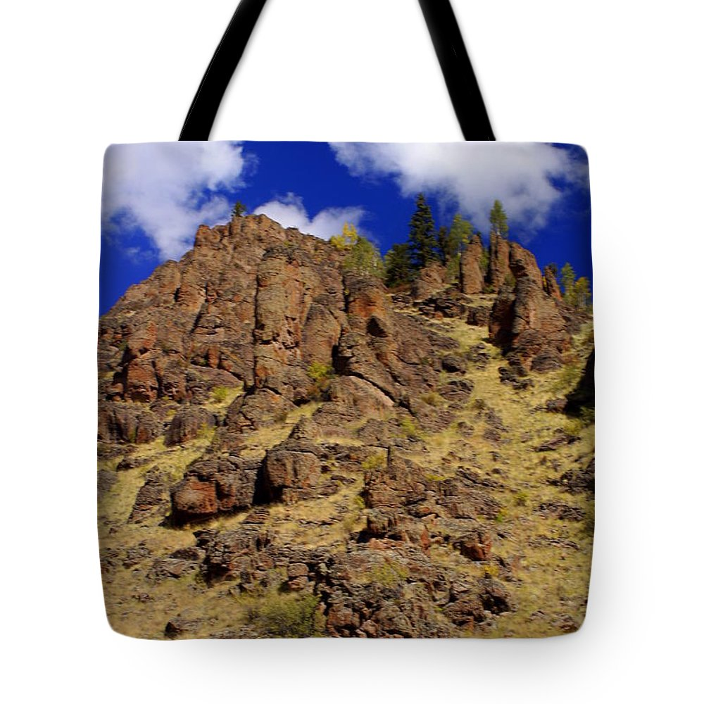 Colorado Tote Bag featuring the photograph Rocky Butte by Marty Koch