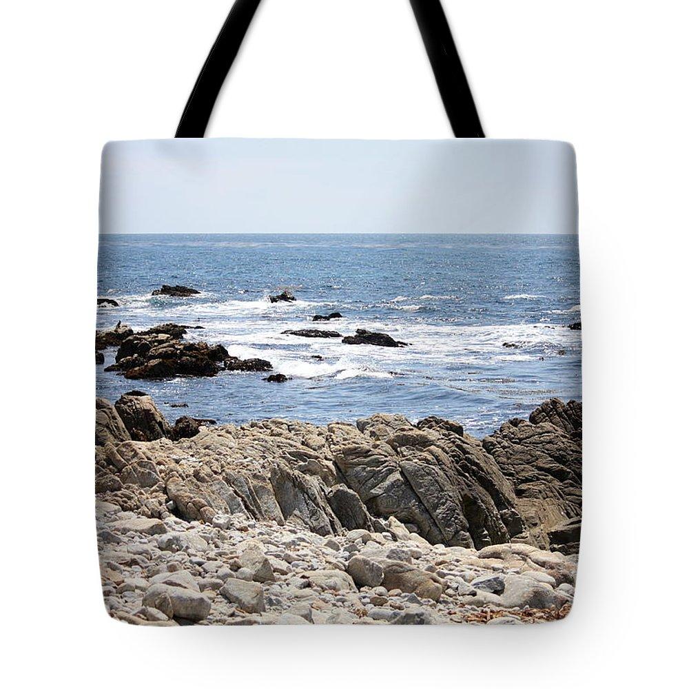 California Tote Bag featuring the photograph Rocky California Coastline by Carol Groenen