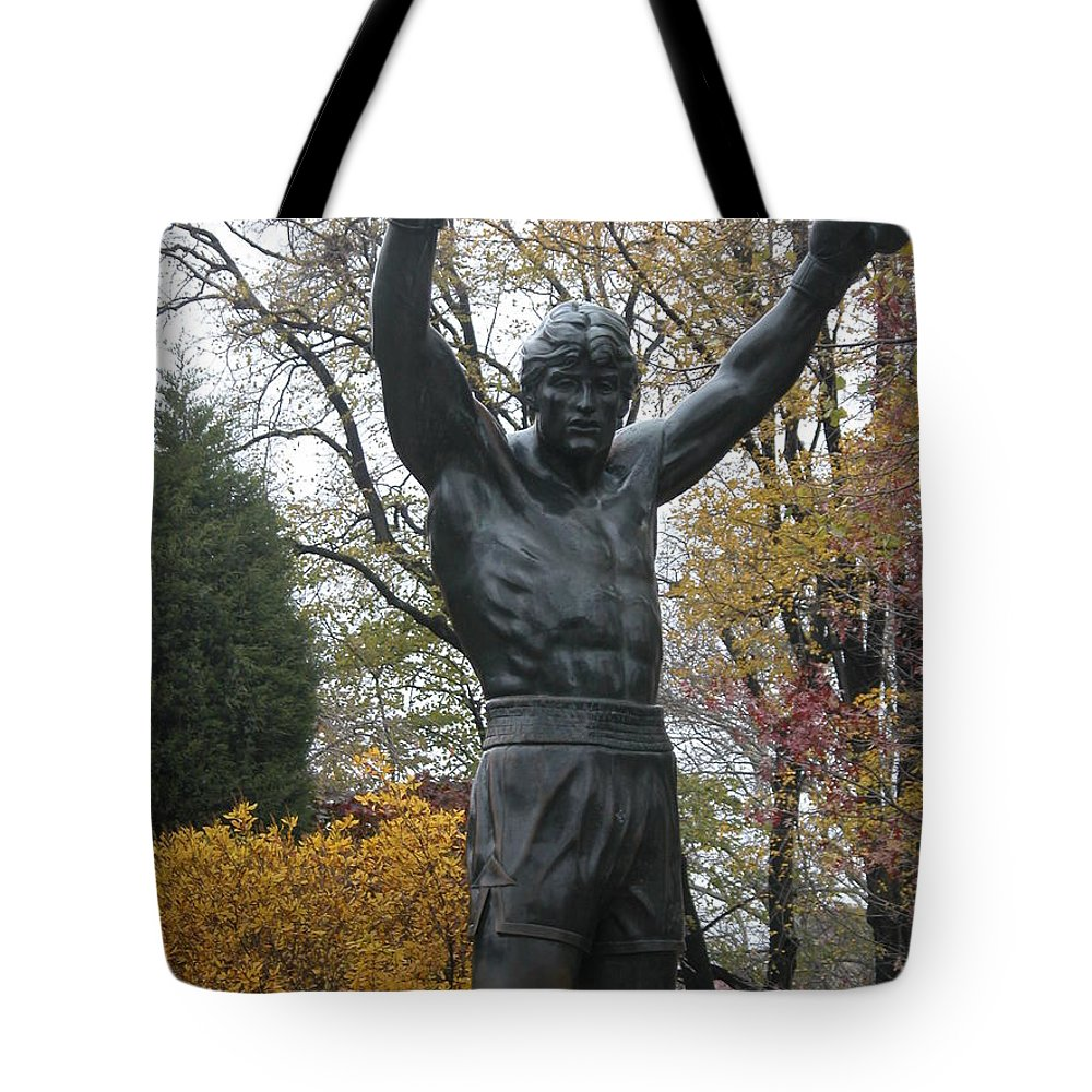 Nature Tote Bag featuring the photograph Rocky In The Fall by Jan Gilmore