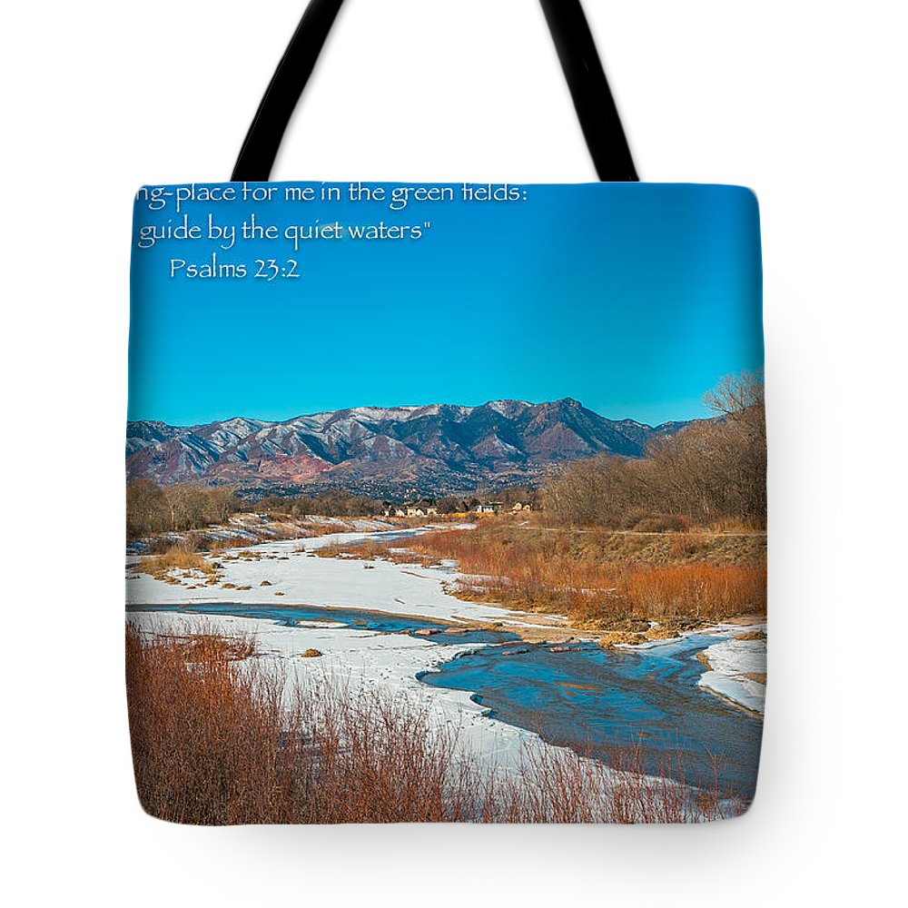 Tote Bag featuring the photograph Rocky Mountain by Alex Zabo