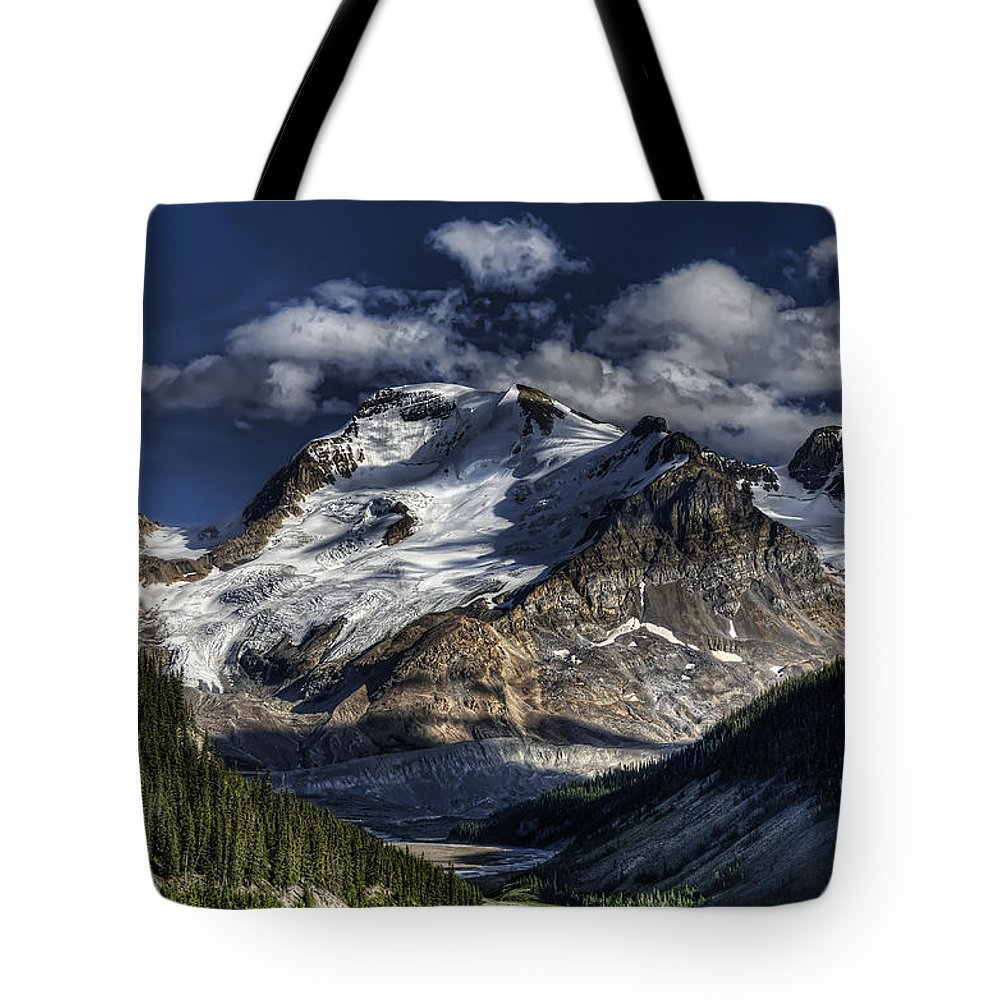 Canada Tote Bag featuring the photograph Rocky Mountain High by Wayne Sherriff