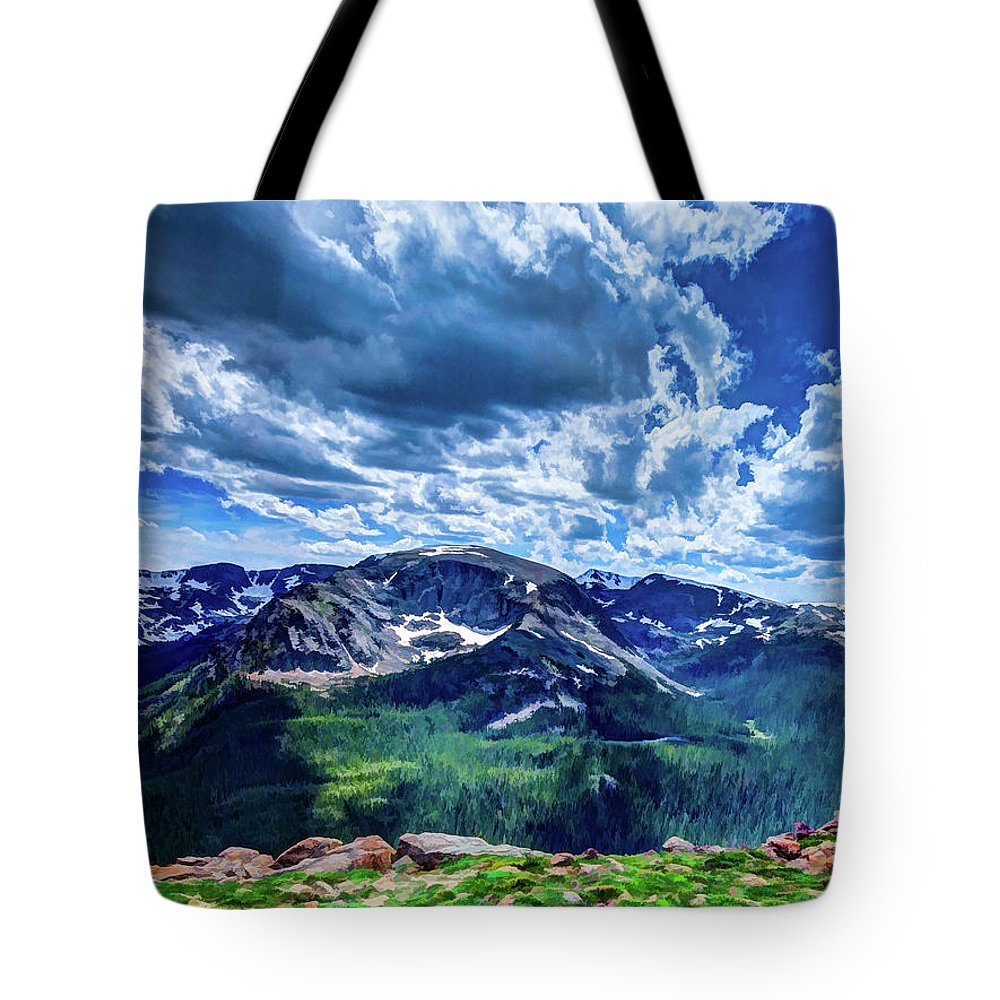 Colorado Tote Bag featuring the photograph Rocky Mountain National Park I by Dave Thompsen