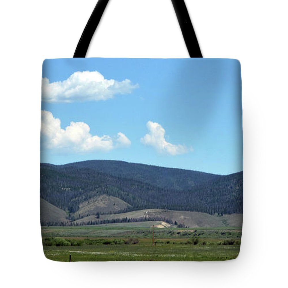 Rocky Mountains Tote Bag featuring the photograph Rocky Mountains 3 by Linda Benoit