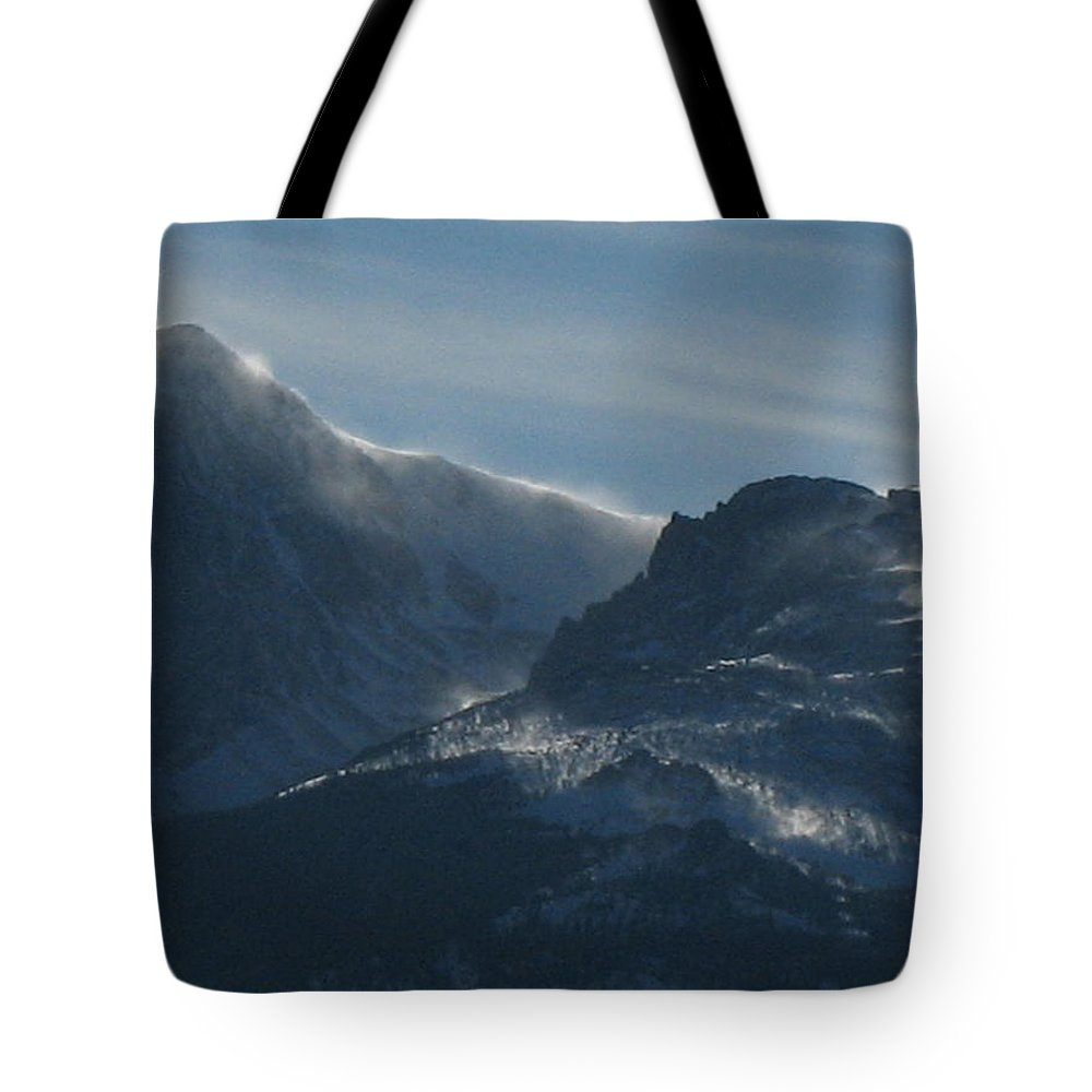 Rockies Tote Bag featuring the photograph Rocky Mts Mtn M 202 by Sierra Dall