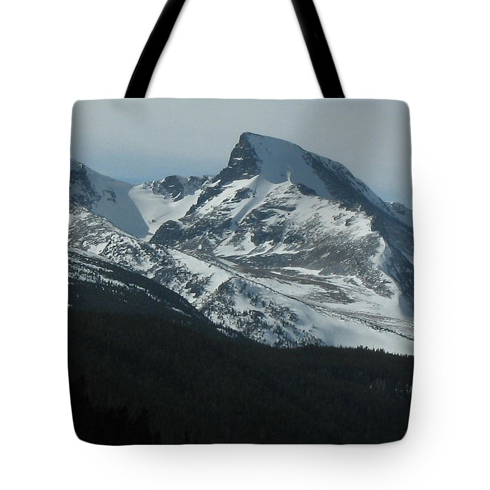 Rockies Tote Bag featuring the photograph Rocky Mts Mtn M 203 by Sierra Dall