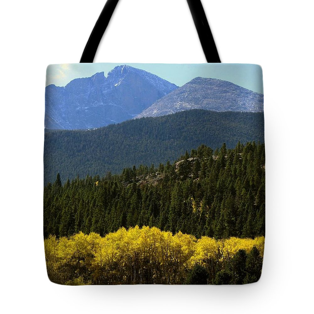 Rockies Tote Bag featuring the photograph Rocky Mts Mtn M 209 by Sierra Dall