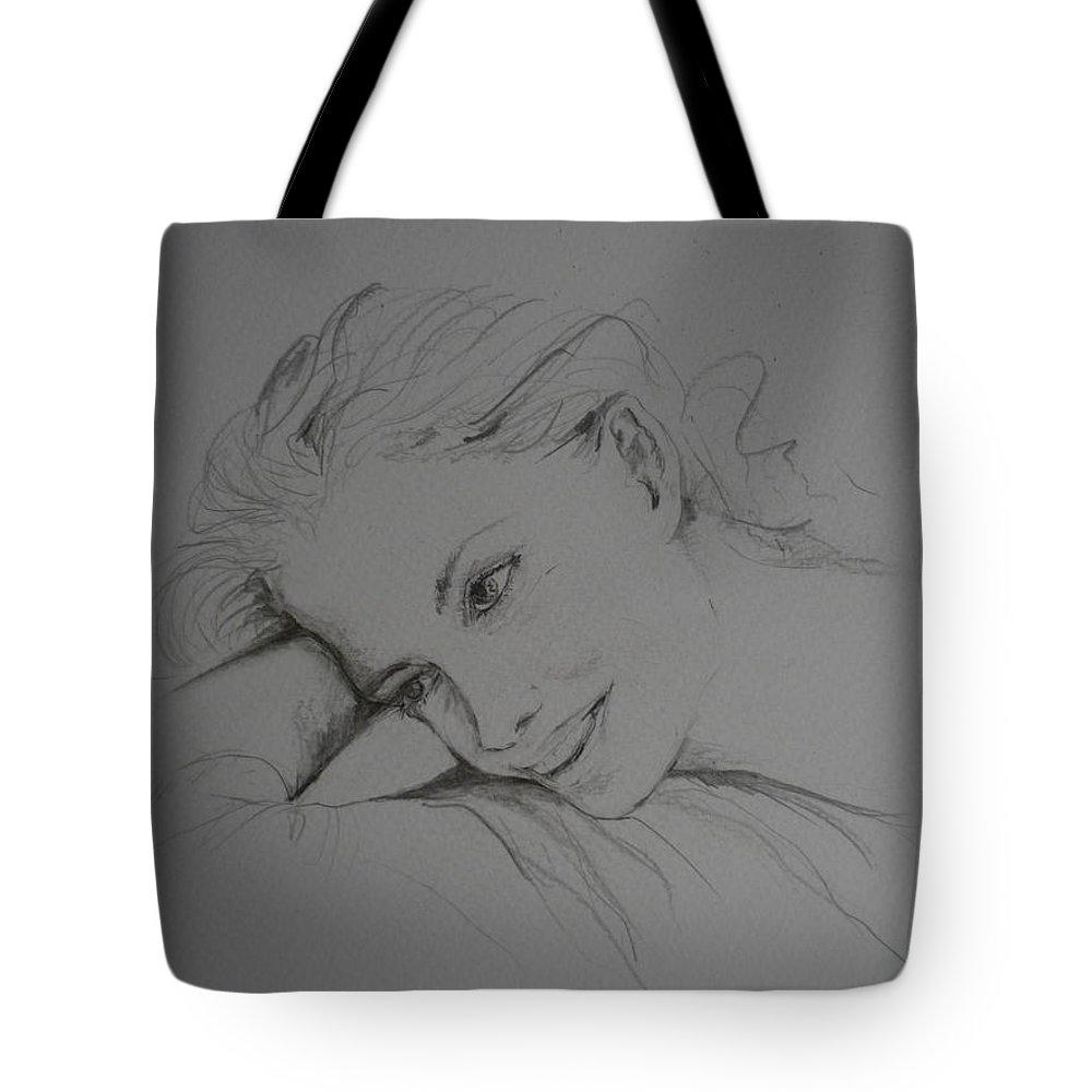 Romance Tote Bag featuring the painting Romantic Thoughts by Lizzy Forrester