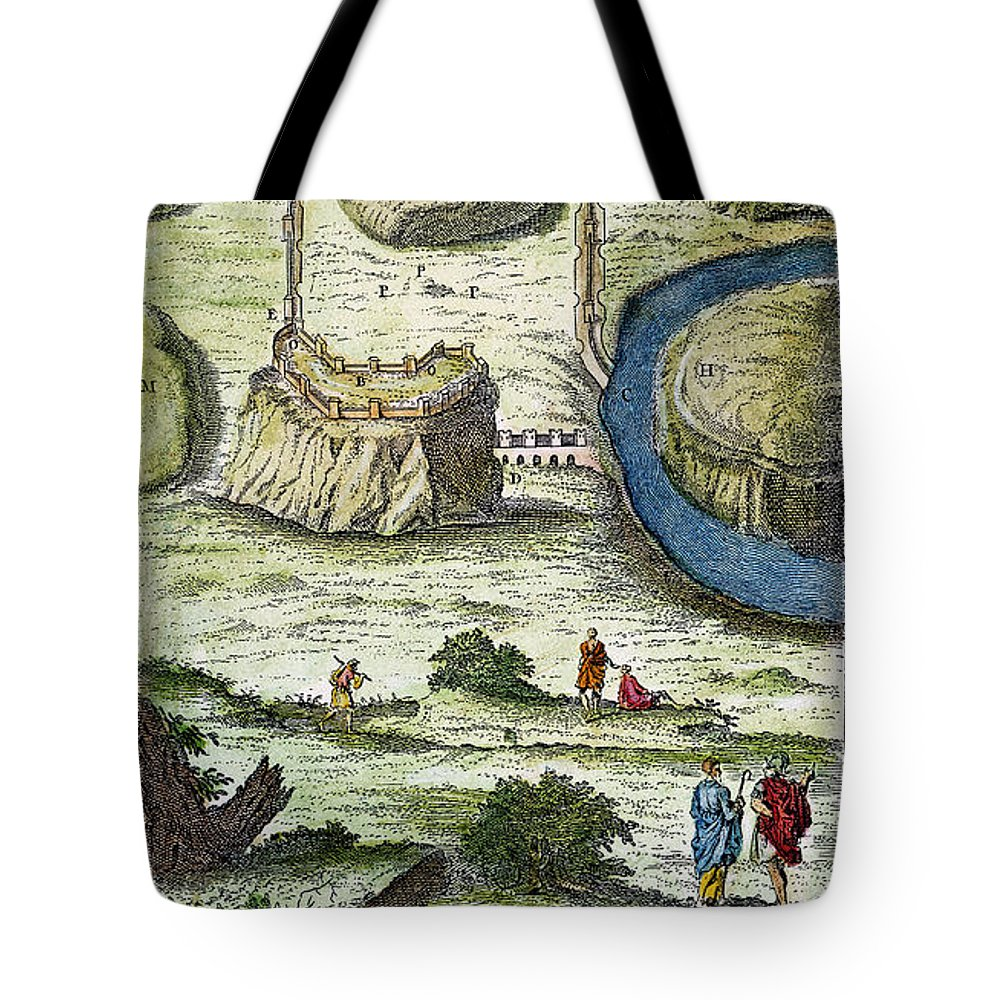 18th Century Tote Bag featuring the photograph Rome: Seven Hills, 18th C by Granger