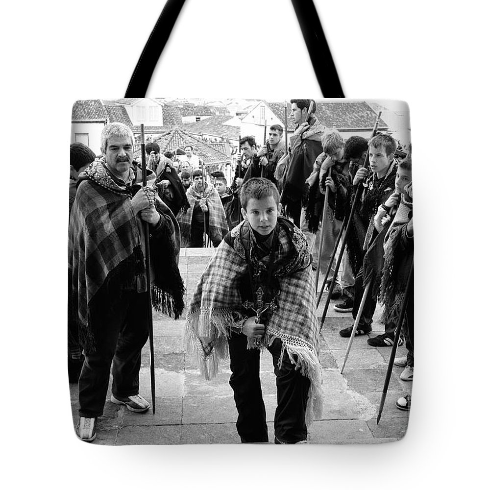 Group Tote Bag featuring the photograph Romeiros Pilgrims by Gaspar Avila