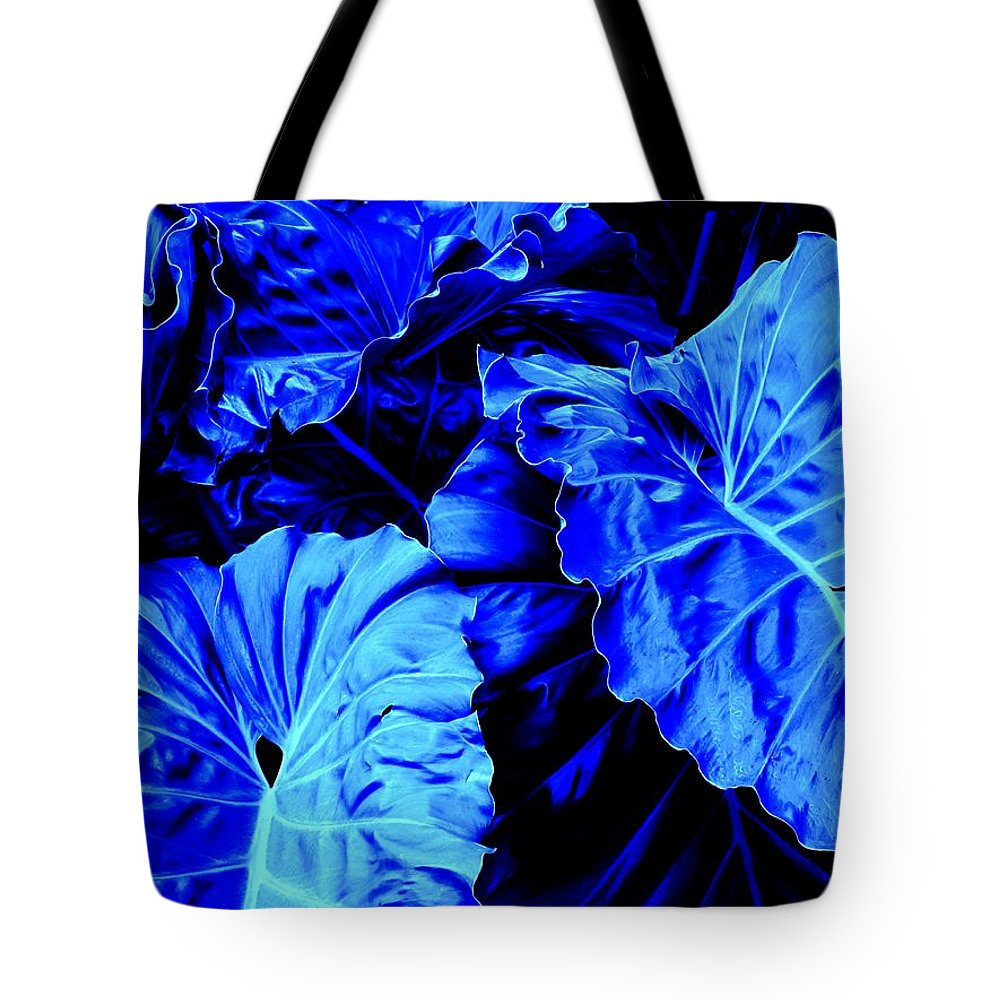 Blue Tote Bag featuring the photograph Romney Blue by Ian MacDonald