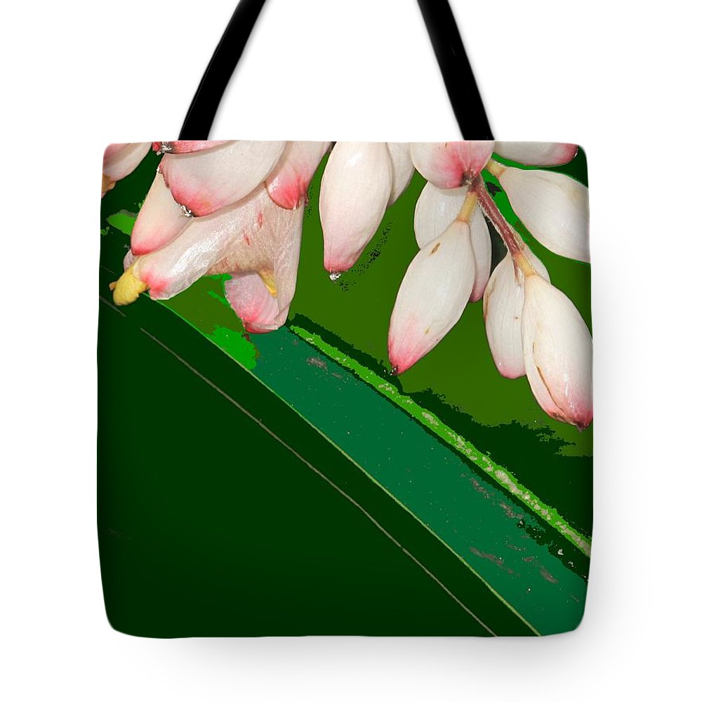 Flowers Tote Bag featuring the photograph Romney White by Ian MacDonald