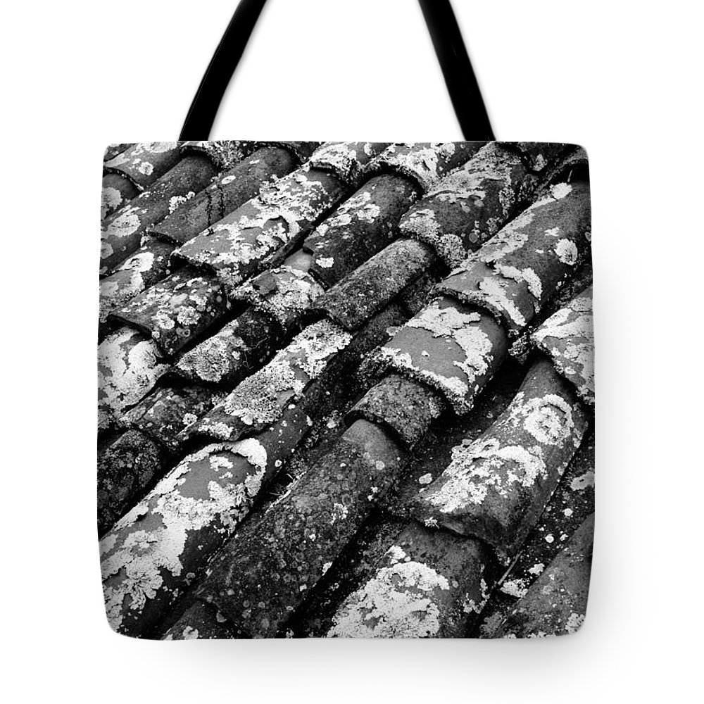 Ceramics Tote Bag featuring the photograph Roof Tiles by Gaspar Avila