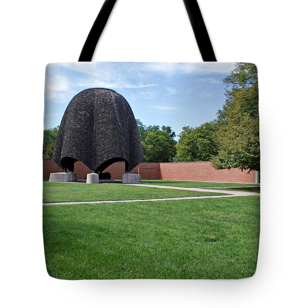 Church Tote Bag featuring the photograph Roofless Church by Sandy Keeton
