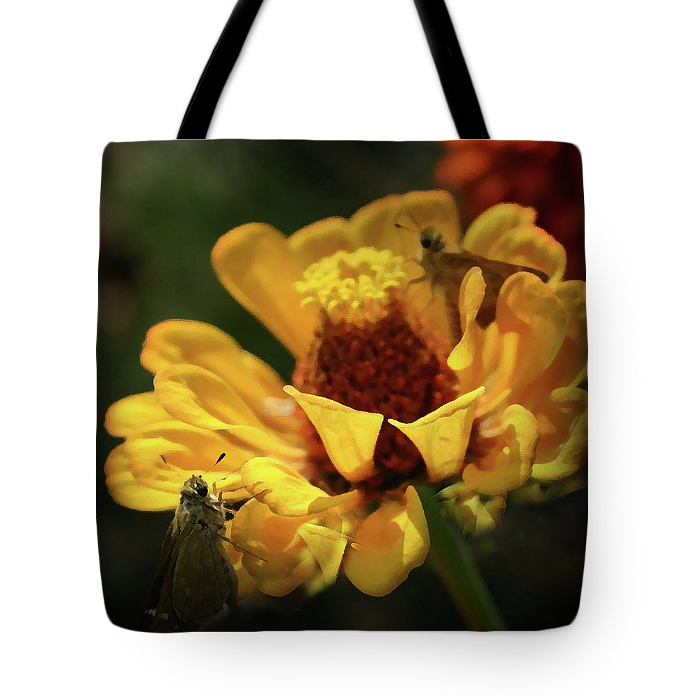 Butterfly Tote Bag featuring the digital art Room For More by Kim Henderson