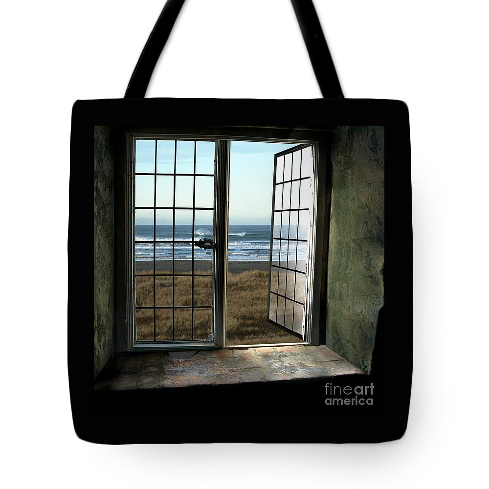 Ocean Tote Bag featuring the photograph Room For Two And A Ocean Breeze by Beverly Guilliams