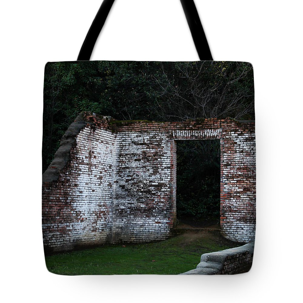 Old Tote Bag featuring the photograph Room With A View by Marnie Patchett