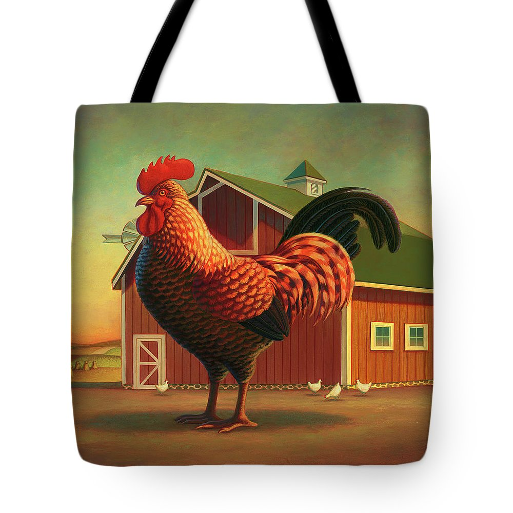 Farm Animals Tote Bags