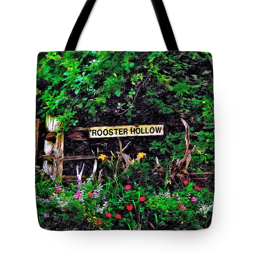 Landscape Tote Bag featuring the photograph Rooster Hollow by Steve Harrington