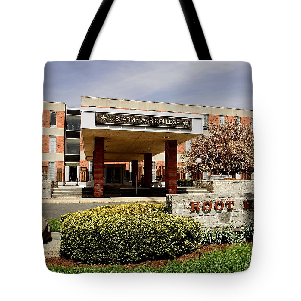 Root Hall Tote Bag featuring the photograph Root Hall 2 by Jean Macaluso