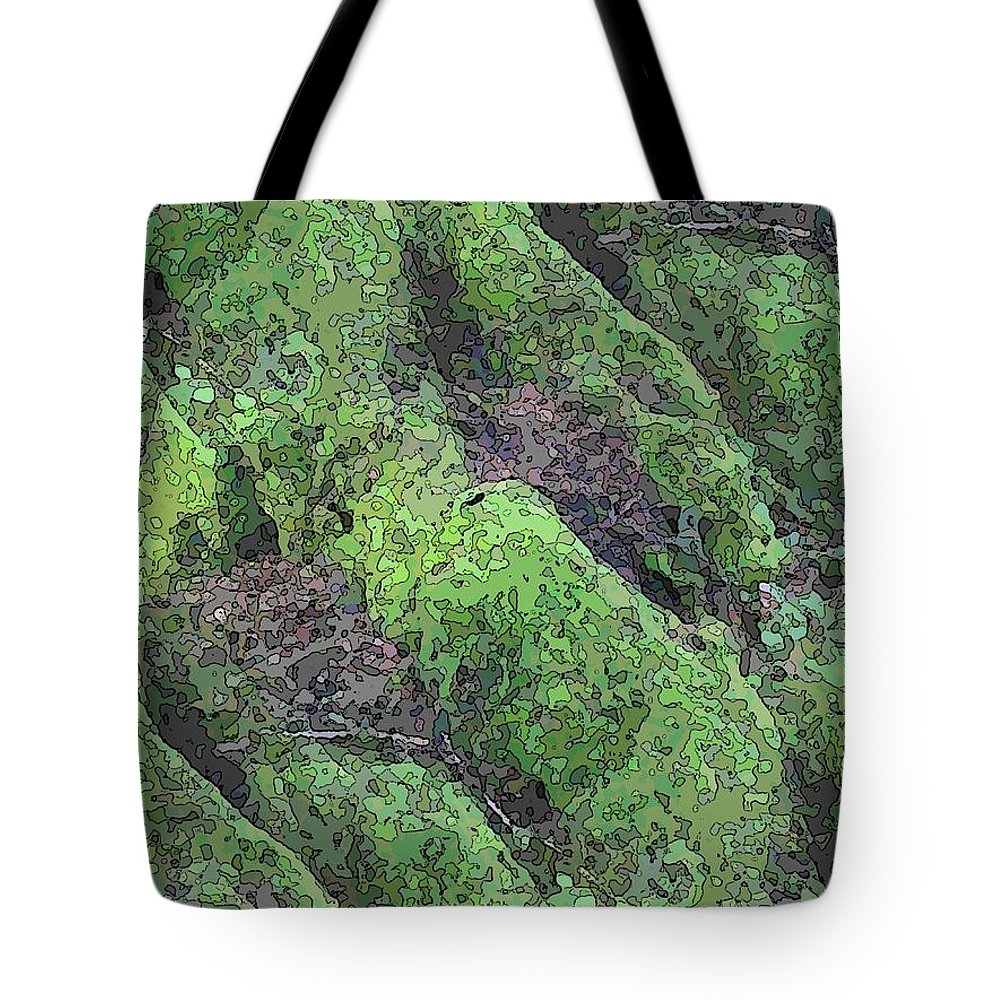 Tree Tote Bag featuring the digital art Roots Of The Ages by Tim Allen