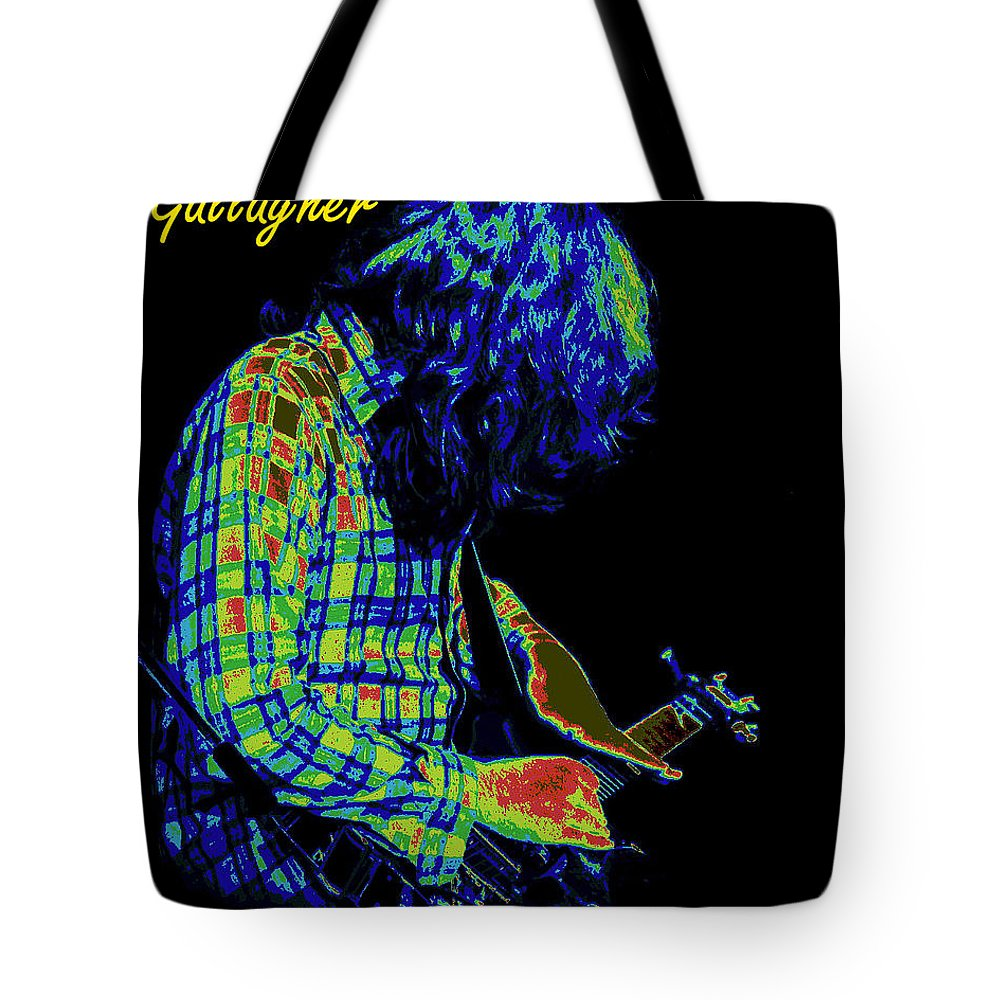 Rock Musicians Tote Bag featuring the photograph Cosmic Light 2 by Ben Upham