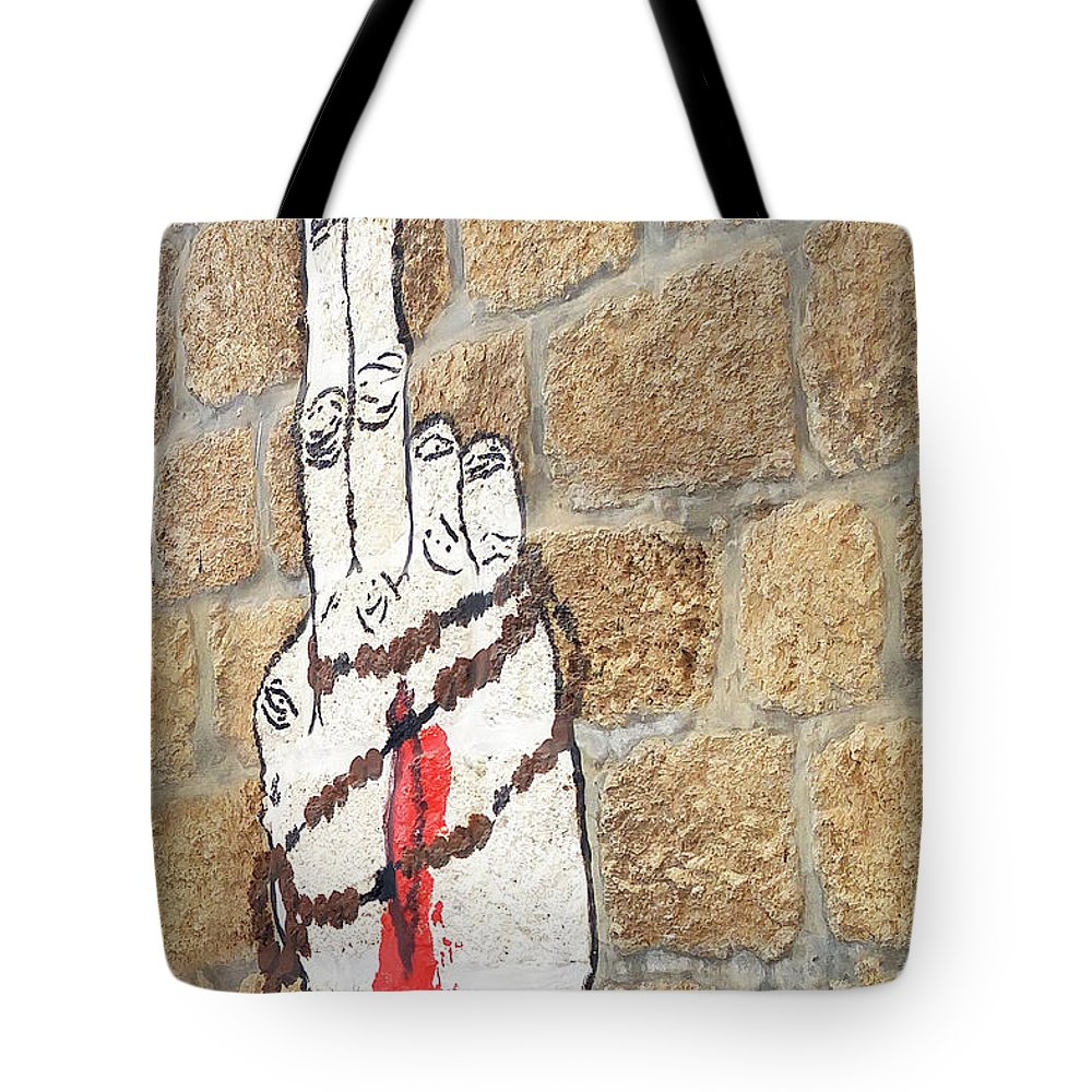 Rosary Prayer Tote Bag featuring the photograph Rosary by Munir Alawi